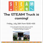 The STEAM truck @ Grand Forks and District Public Library