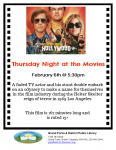 Thursday Night at the Movies - Once Upon a Time in Hollywood @ Grand Forks and District Public Library