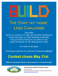 The Lego Stay-At-Home Challenge @ Grand Forks and District Public Library