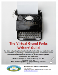 Virtual Grand Forks Writers' Guild @ Grand Forks and District Public Library
