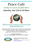 Peace Cafe @ Grand Forks and District Public Library