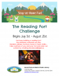 The Reading Fort Challenge @ Grand Forks and District Public Library