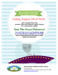 Virtual Storytime - Into The Great Unknown - Aliens, Black Holes and Other Mysteries of Space! @ Grand Forks and District Public Library