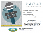 Virtual Poetry Cafe @ Grand Forks and District Public Library
