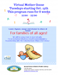Virtual Mother Goose @ Grand Forks and District Public Library